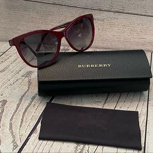 Burberry Bordeaux Burgundy Sunglasses B4199
